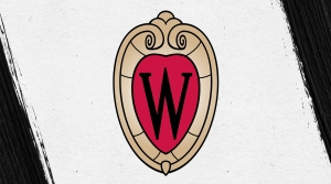 UW-Madison black crest logo