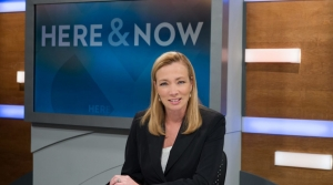 """Here & Now"" host Frederica Freyburg"