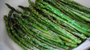 Read full article: Garlic Roasted Asparagus With Cotija