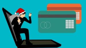 thief in Santa hat