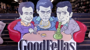 """Caricatures of characters from the film, """"Goodfellas"""""""