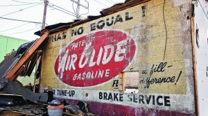 Fading Pate Oil ad discoved on Brady Street in 2017