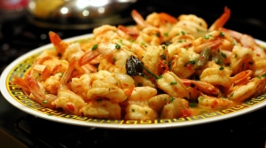 marinated spicy shrimp