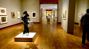 A look inside Chazen Art Museum.