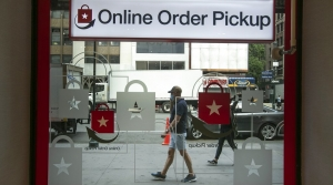 A window of Macy's indicates the location of 'online order pickup'.