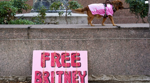 """Free Britney"" sign"