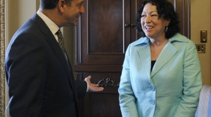 Russ Feingold meets with Sonia Sotomayor