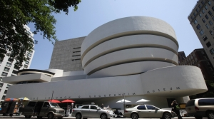 New York City's Guggenheim Museum which was designed by Frank Lloyd Wright