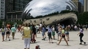 """""""The Bean"""" in Chicago"""