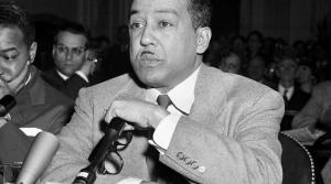 Langston Hughes testifies before Congressional committee