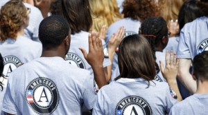 New AmeriCorps volunteers are sworn in for duty