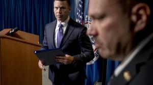 Acting Homeland Security Secretary Kevin McAleenan