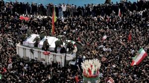 Funeral for Qassem Soleimani