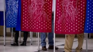 People vote
