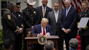 President Trump signs executive order on policing