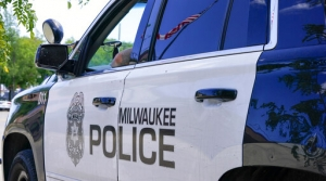 A Milwaukee Police Department vehicle