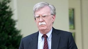 John Bolton walking