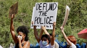 Profesters demand the Phoenix City Council defund the Phoenix Police Department