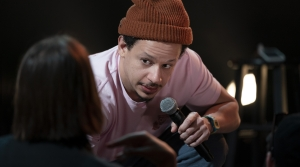 Eric Andre in his new comedy special, Legalize Everything.