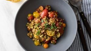 Heirloom Tomato Farro Bowl