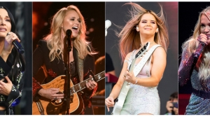 Country music artists Kacey Musgraves, Miranda Lambert, Maren Morris and Carrie Underwood.