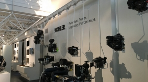 Kohler parts on display