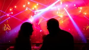 music light show