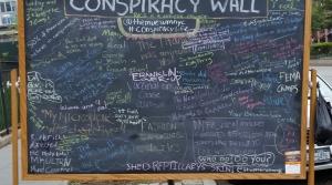 conspiracy theory wall