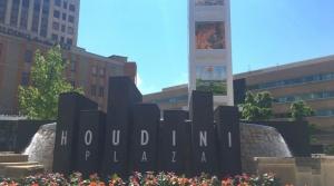 Houdini Plaza Welcome Tower