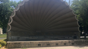 A band shell in Fort Atkinson, Wisconsin.