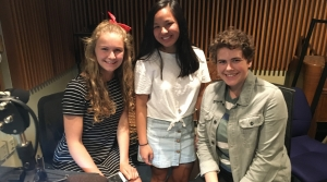Middleton High School student podcasters