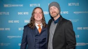 Directors of the Nickelodeon documentary Scott Barber and Adam Sweeney