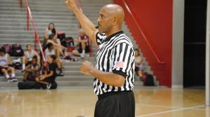 Basketball referee