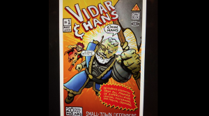 The cover of comic book 'Vidar & Hans'