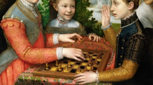 """The Chess Game,"" a 16th century painting by Sofonisba Anguissola"