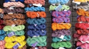 Yarn at the Sheep & Wool Festival