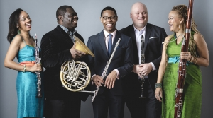 Photo of Imani Winds ensemble