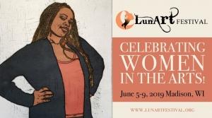 Poster for the 2019 LunArt Festival