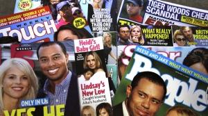A pile of tabloids