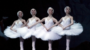 Members of the Mariinsky Ballet perform in Swan Lake. Photo: Courtesy Mariinsky Ballet and Orchestra
