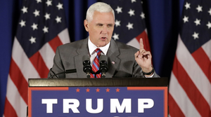 Read full article: Washington Post Reporter Barred From Entering Mike Pence Campaign Stop