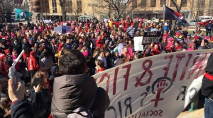 Read full article: Protesters Gather At State Capitol On International Women's Day