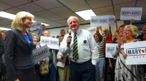 Read full article: Burke Emphasizes Voter Turnout At Campaign Stop In Green Bay