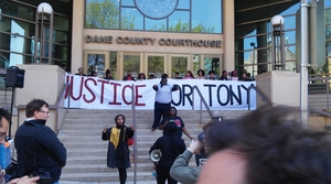 Read full article: Tony Robinson Rally Underway In Madison