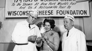 Read full article: Vintage Wisconsin: The Big Cheese Heads To World's Fair