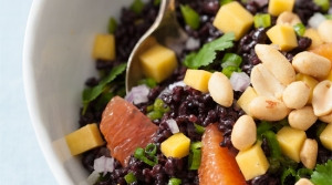Read full article: Mango and Black Rice Salad
