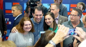 Read full article: Walker Says He's Not Fazed By Falling Poll Numbers