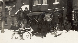 Read full article: Vintage Wisconsin: First Snowmobiles Were Cars With Sled Runners