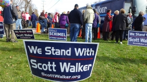 Read full article: Walker Makes Campaign Stop In Hometown On Sunday