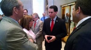 Read full article: Walker Strikes Hawkish Tone At NRA Gathering